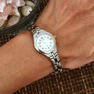 FOSSIL Silver Link Watch
